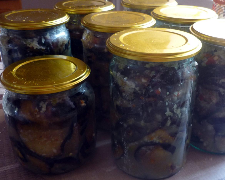 Заготовки из баклажанов тещин язык на зиму рецепты пошагово