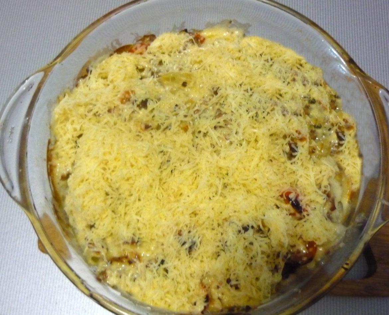 Запеканка макароны с фаршем пошаговый рецепт